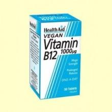 Vitamina B12 1000 ug - 50 comprimidos - Health Aid