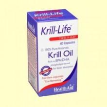 Krill-Life - 60 cápsulas - Health Aid