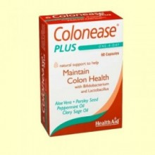Colonease Plus - 60 cápsulas - Health Aid