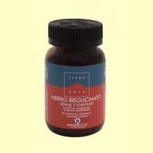 Hierro Bisglicinato 20 mg Complex - 50 cápsulas - Terra Nova