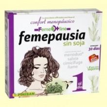 Femepausia - 30 cápsulas - Pinisan Laboratorios