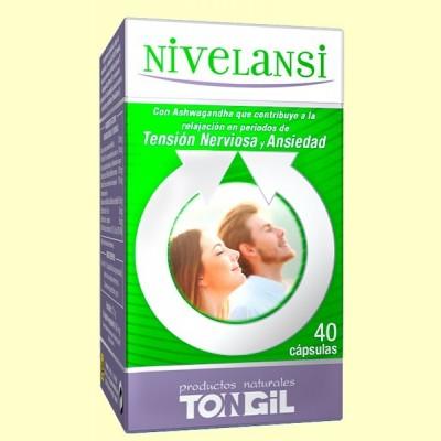 Nivelansi - Ayuda contra el estrés y la ansiedad - 40 cápsulas - Tongil