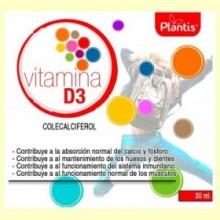 Vitamina D3 Colecalciferol - 30 ml - Plantis