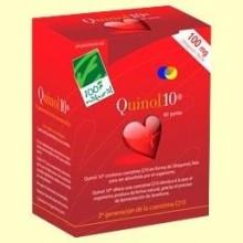 Quinol - Coenzima Q-10 - 100% Natural - 60 cápsulas 100 mg de Ubiquinol