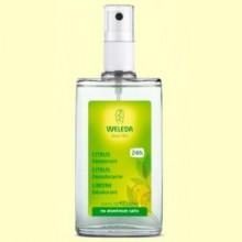 Desodorante Spray de Citrus - 100 ml - Weleda