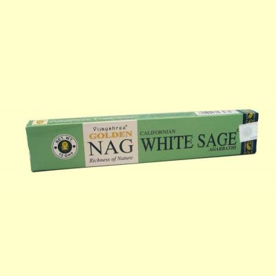 Incienso Nag White Sage - 15 g - Vijayshree