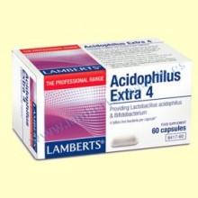 Acidophilus Extra 4 - 60 cápsulas - Lamberts
