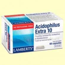 Acidophilus Extra 10 - 60 cápsulas - Lamberts