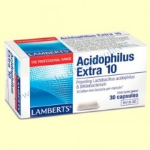 Acidophilus Extra 10 - 30 cápsulas - Lamberts