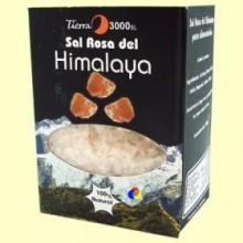 Sal Rosa del Himalaya Gruesa para Alimentación - 1 kg - Tierra 3000