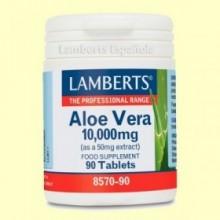 Aloe Vera 10.000 mg - 90 comprimidos - Lamberts