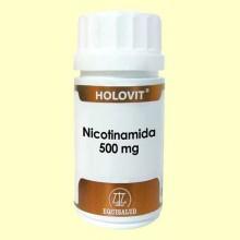 Holovit Nicotinamida 500mg - 50 cápsulas - Equisalud