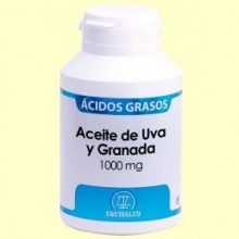 Aceite de Uva y Granada 1000 mg - 120 cápsulas - Equisalud