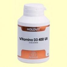 Holovit Vitamina D3 400 UI - 180 cápsulas - Equisalud