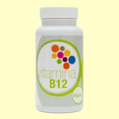 Vitamina B12 Cianocobalamina - 90 cápsulas - Plantis