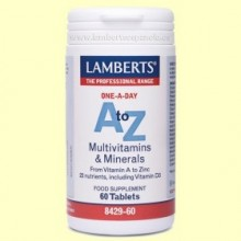 A-Z Multivitaminas - 60 comprimidos - Lamberts