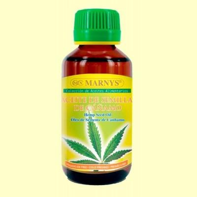 Aceite de Semillas de Cáñamo - 125 ml - Marnys
