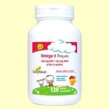 Omega-3 peques - 120 perlas - Sura Vitasan