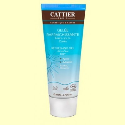 Gel refrescante Aftersun - 200 ml - Cattier