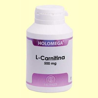 Holomega L Carnitina - 180 cápsulas - Equisalud