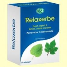 Relaxerbe cápsulas - 30 cápsulas - Laboratorios ESI