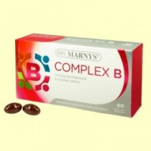 Complex B - 60 cápsulas - Marnys
