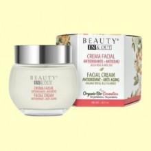 Crema Facial Antioxidante Antiedad Beauty In&Out - 50 ml - Marnys