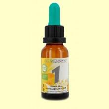 Complejo Floral Bio Fórmula 1 - Urgencias - 20 ml - Marnys