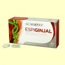 Espiginjal - Espirulina, Ginseng Coreano y Jalea Real - 60 cápsulas - Marnys