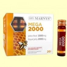 Jalea Real Mega 2000 - 20 Viales - Marnys