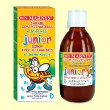 Jarabe Junior Multivitamínico con Jalea Real - 250 ml - Marnys