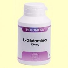 Holomega L-Glutamina - 180 cápsulas - Equisalud