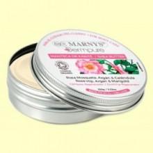 Manteca de Karité Rosa Mosqueta, Argán y Caléndula Bio - 100 gramos - Marnys