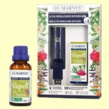 Combo USB Ultra nebulizador + Synergy Repell 30 ml - Marnys