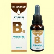 Vitamina B6 líquida - 30 ml - Marnys