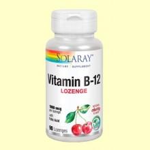Vitamina B12 1000 mcg - 90 comprimidos - Solaray