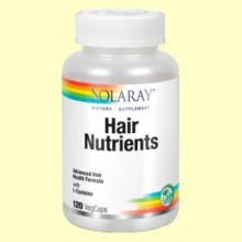 Hair Nutrients - 120 cápsulas - Solaray