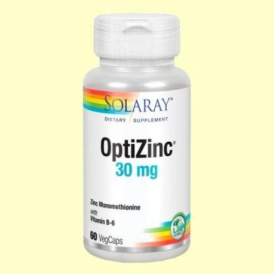 OptiZinc - 60 cápsulas - Solaray