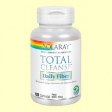 Total Cleanse Fiber - 120 cápsulas - Solaray
