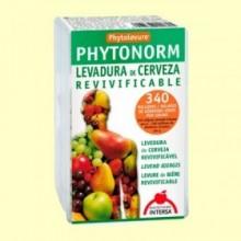 Phytonorm - Levadura de cerveza revivificable - 80 cápsulas - Intersa
