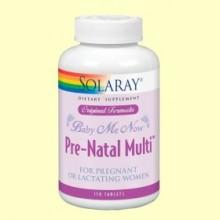 Baby Me Now - Prenatal - 150 tabletas - Solaray