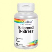Balanced B Stress - 100 cápsulas - Solaray