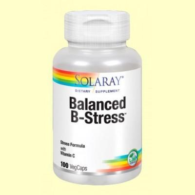 Balanced B Stress - 100 cápsulas - Solaray