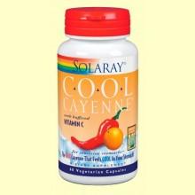 Cool Cayene - 60 cápsulas - Solaray