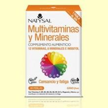 Multivitaminas y minerales - 30 perlas - Natysal