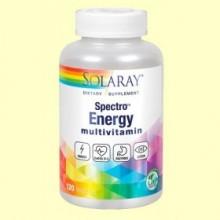 Multivitaminas Spectro Energy - 120 cápsulas - Solaray
