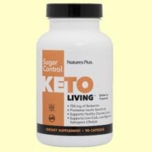 KetoLiving Sugar Control - 90 cápsulas - Natures Plus