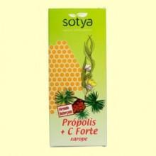 Jarabe Própolis + Vitamina C, Eucalipto, Pino y Equinácea - 250 ml - Sotya