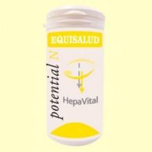 Hepavital - 60 cápsulas - Equisalud