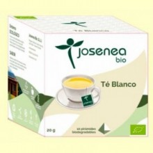 Té Blanco Bio - 10 pirámides - Josenea